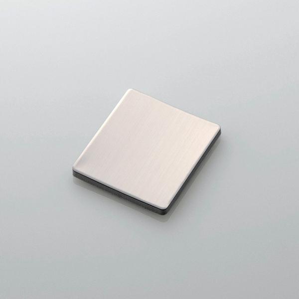 ガラス製の扉を使った冷蔵庫用シールプレート(KTG-PH01WH)が付属する