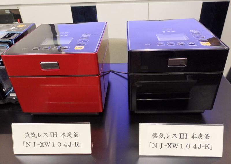 三菱電機「蒸気レスIHジャー炊飯器 本炭釜」NJ-XW104J。yodobashi.comでの実売価格は70,800円