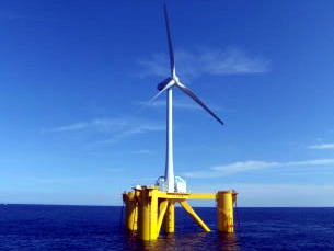 浮体式洋上発電設備「ふくしま未来」