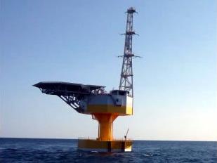 浮体式洋上サブステーション「ふくしま絆」