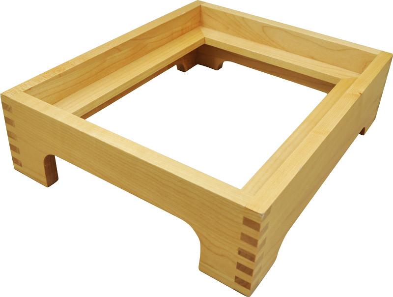 専用の木枠も販売する