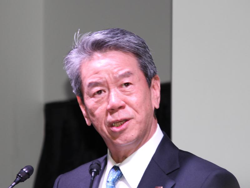 東芝の田中久雄社長