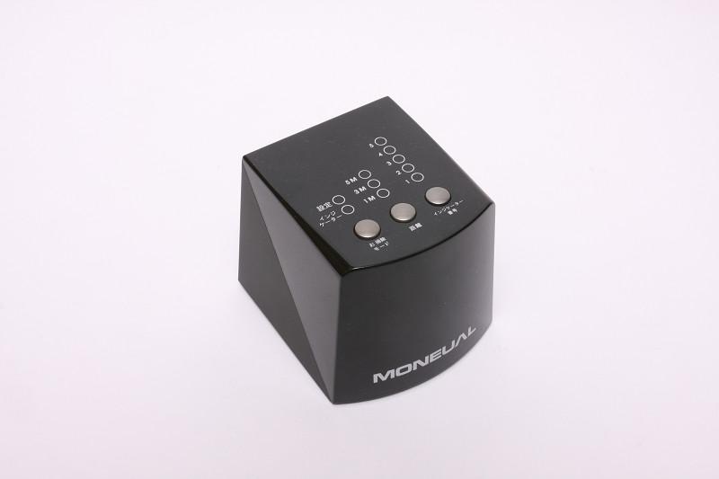 部屋番号と信号の届く距離(1,3,5m)の設定ができる