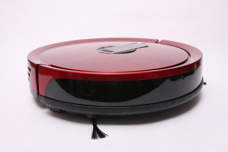 黒い帯の置くには赤外線距離センサーを内蔵