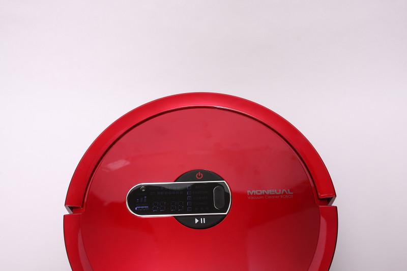 赤外線センサーで見つけられなかった障害(極端に細いものや透明なものや黒いもの)は、正面と左右のバンパーセンサーで検知