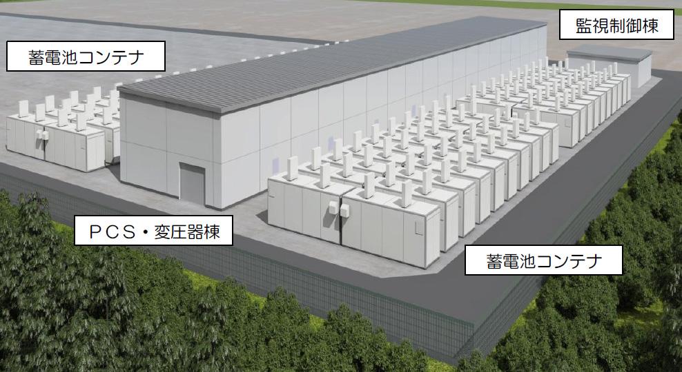 西仙台変電所 完成イメージ図