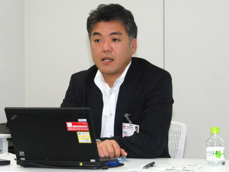 菅原雄一郎グリーンエネルギー事業長