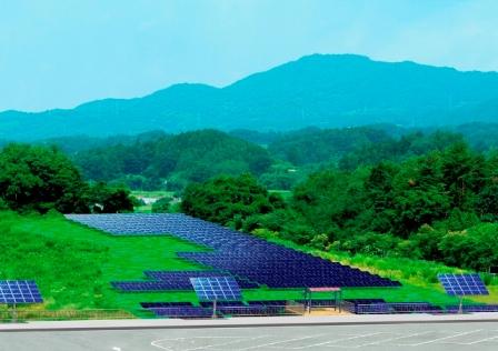 福島空港の敷地内に建設予定の「福島空港メガソーラー」