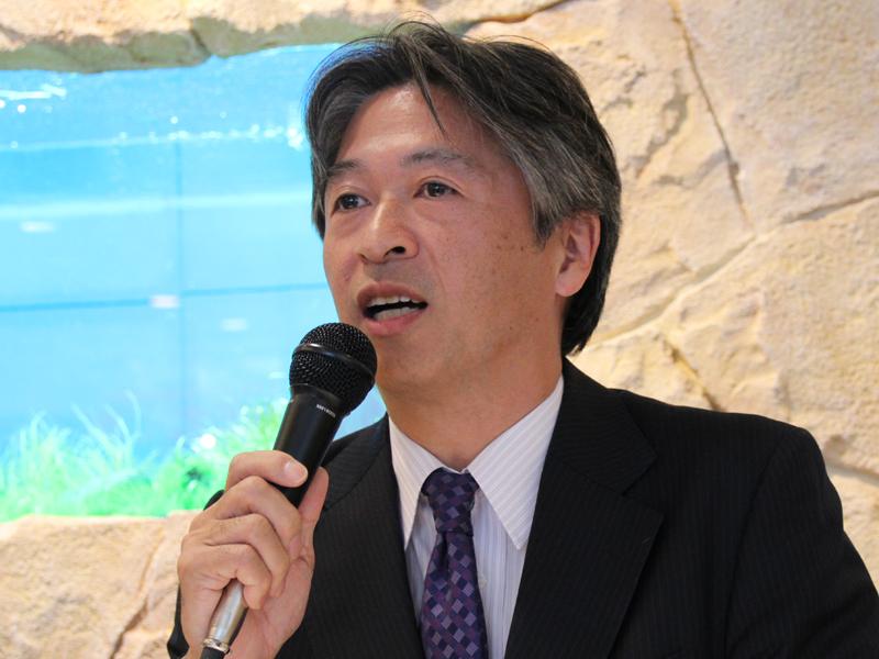 三菱レイヨン・クリンスイの池田宏樹営業本部長