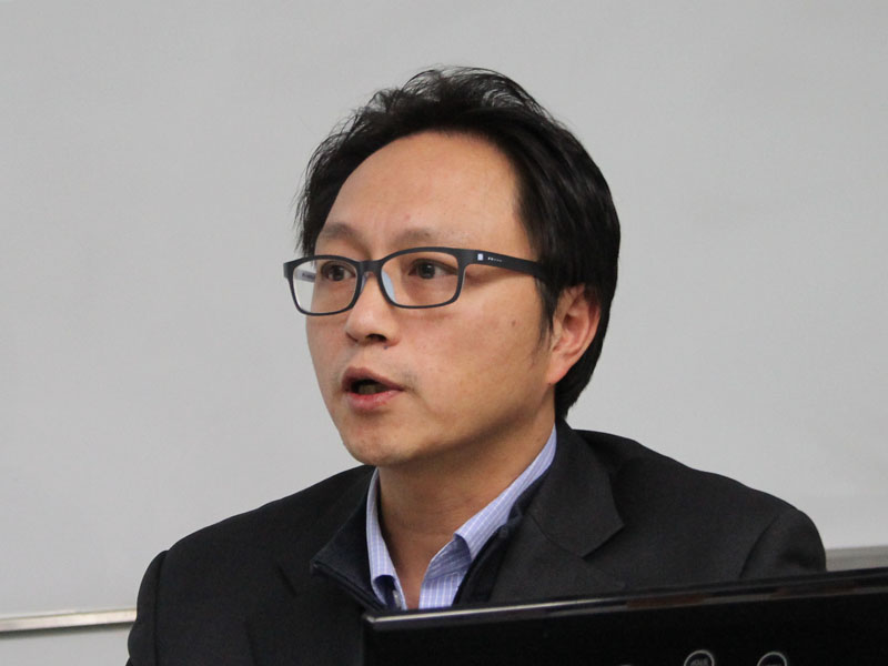 開発担当者のSimon Yoon氏