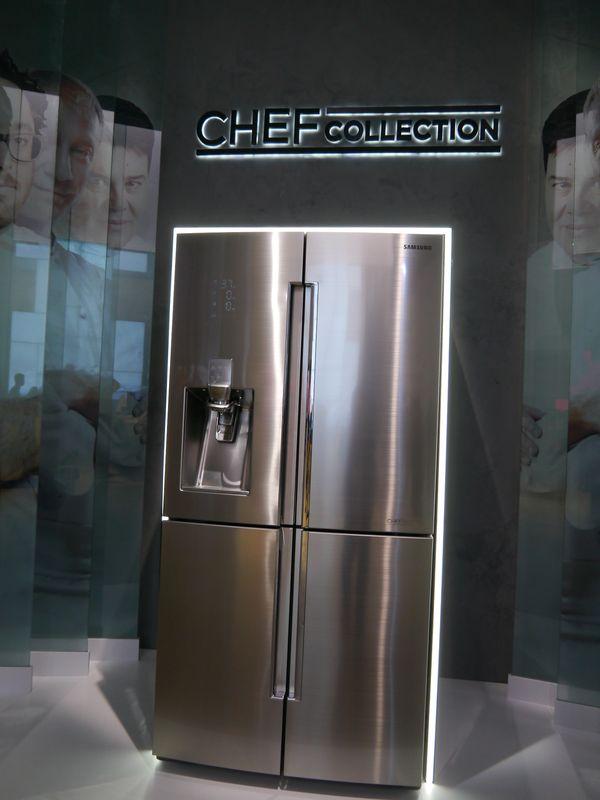 サムスンは「CHEF COLLECTION」シリーズを新たに投入