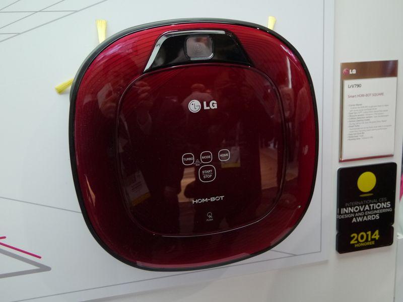 四角型のデザインを特徴としているHOM-BOT「LrV790」