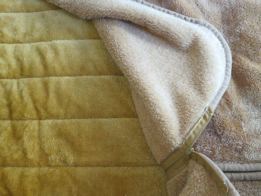 敷きパッドも柔らかく毛足の長い素材を採用している