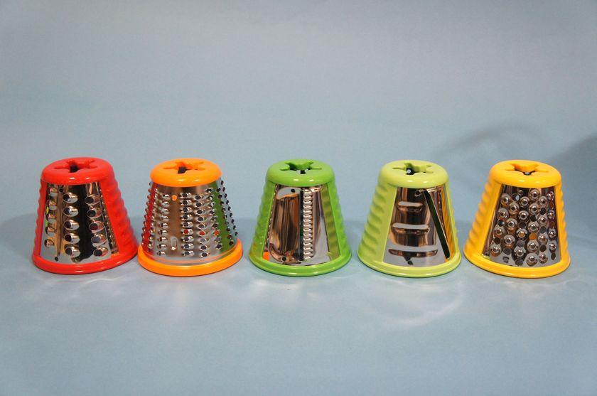 ドラムは全部で5種類。色分けされている