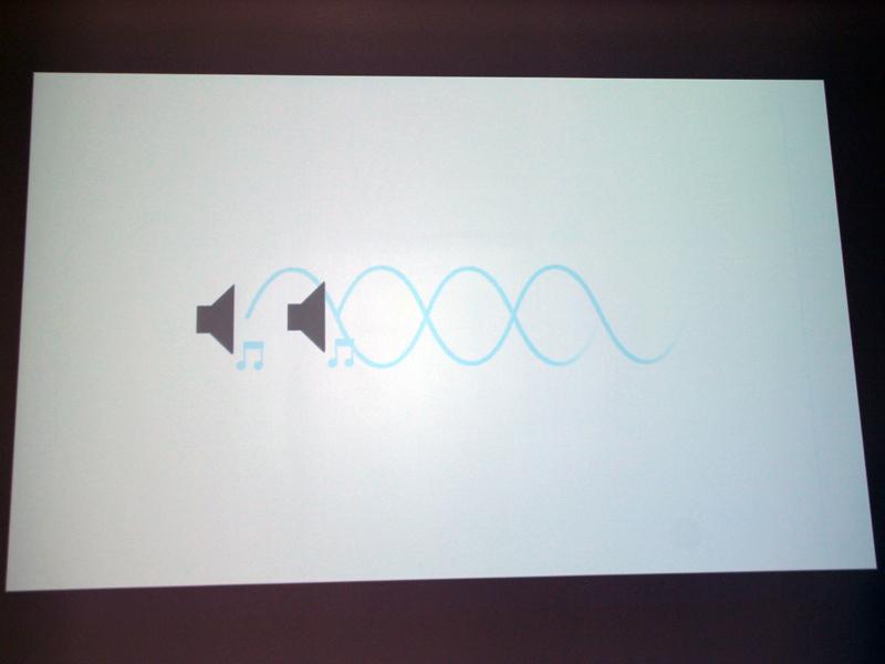 しかし、波の形状を変えることで、音を打ち消すことができるという