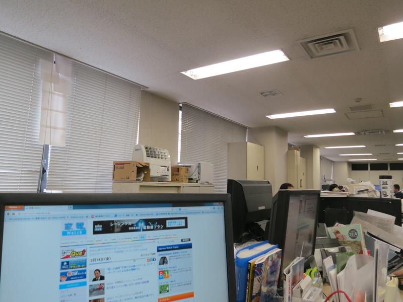 オフィスで使用。エアコンや空気清浄機の音を消すと、とても静かに感じられる