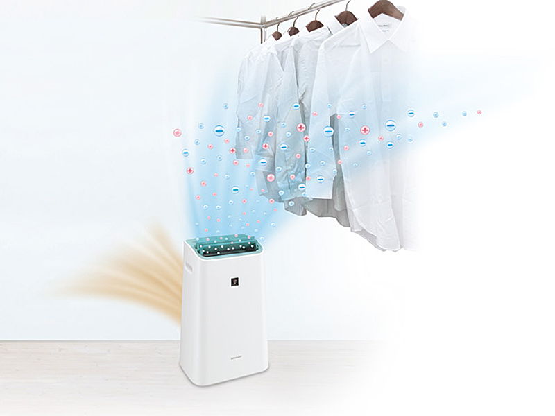 部屋干し衣類を乾かせる。カラーはホワイト系のみ