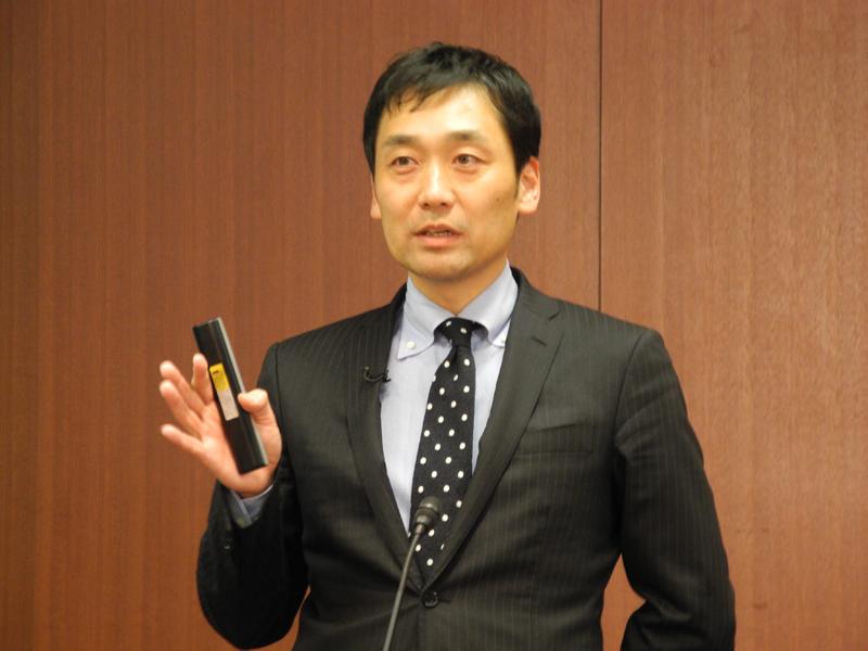 NTTスマイルエナジー 代表取締役社長の谷口裕昭氏