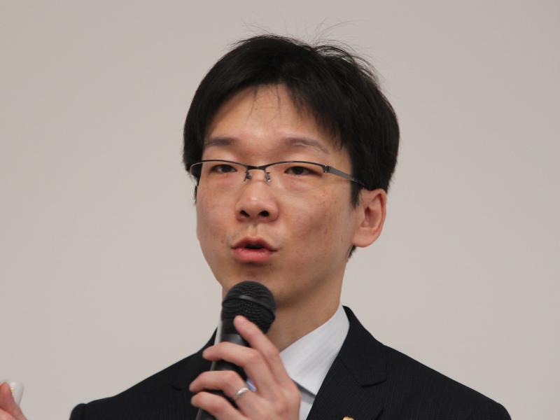 アイリスオーヤマ 家電開発部 マネージャー 淡路雄一氏
