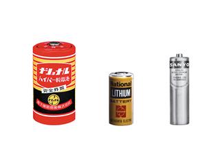 パナソニックの乾電池、リチウム一次電池、ニカド電池