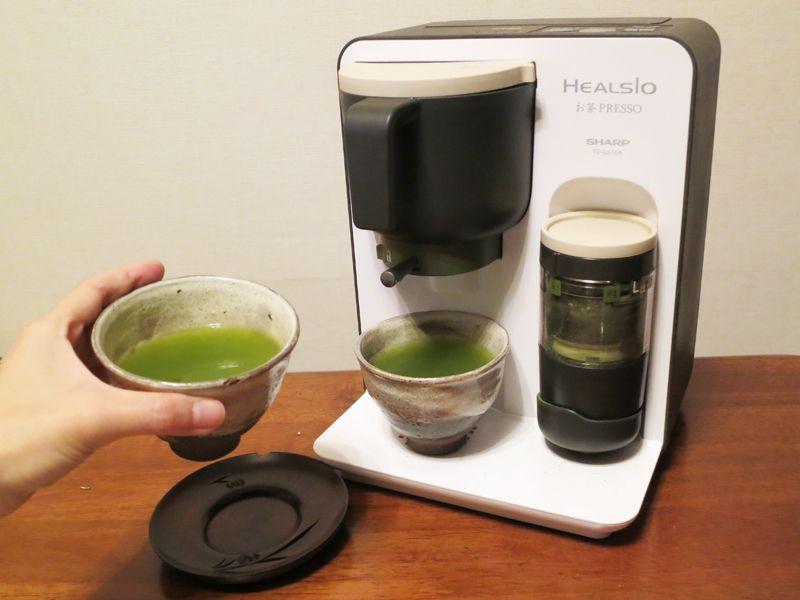 緑茶の香りと味がさわやか!