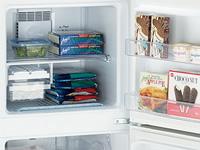 冷凍室には冷凍食品などを65Lまで入れられる