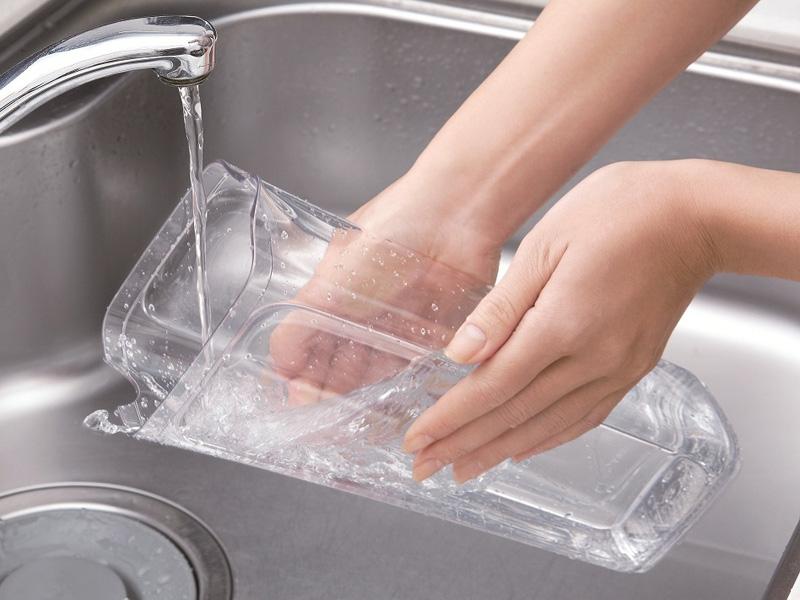 全てのパーツは取り外して洗えるので、衛生的という
