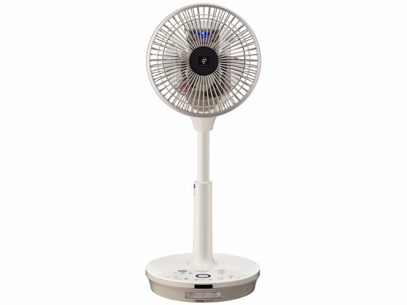 シャープ「プラズマクラスター扇風機 コードレス3Dファン PJ-D2DBG」