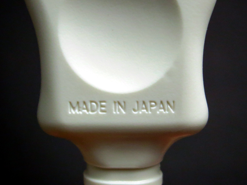 背面に「Made in Japan」の刻印がある
