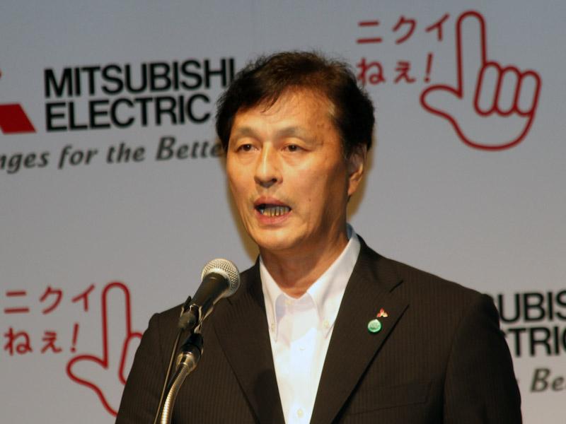 三菱電機 常務執行役 リビング・デジタルメディア事業本部長の杉山武史氏
