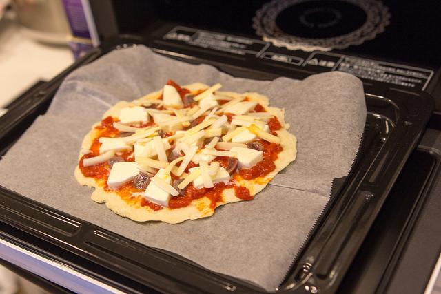 ピザを作ってみているところ