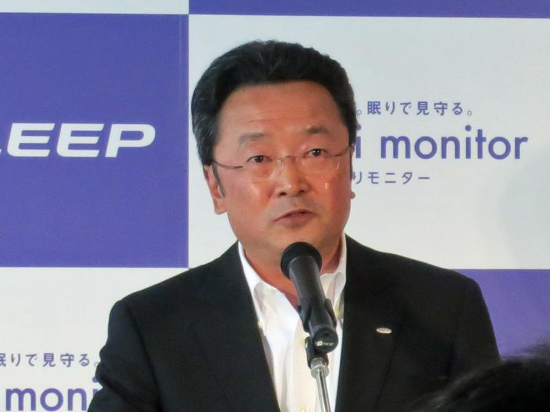 アイシン精機の廣瀬隆久 専務役員