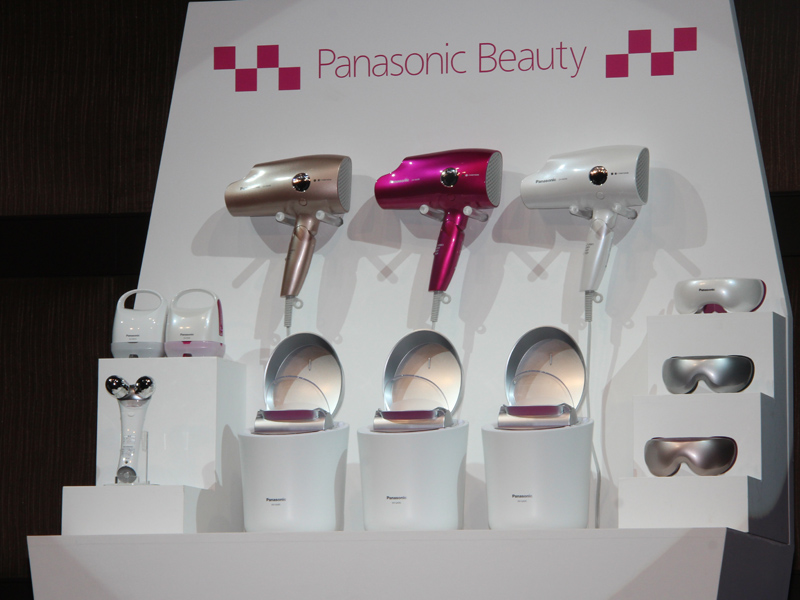 9月1日よりリニューアルするパナソニックの美容製品群
