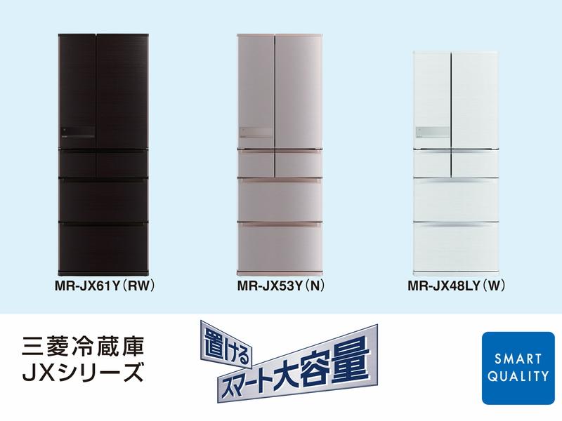 左から順に、MR-JX61Y、MR-JX53Y、MR-JX48LY