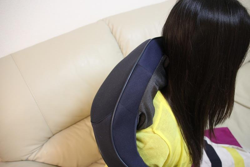 肩の凝りもほぐれた。引っ張り具合で強弱も変えられる