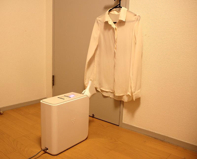 衣類の乾燥は少ない量ならできる