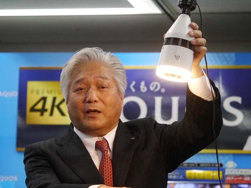 シャープ 国内営業本部副本部長兼シャープエレクトロニクスマーケティング社長の細尾忠弘氏