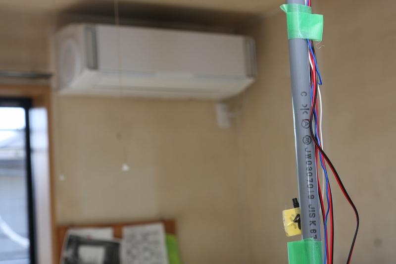 暖房時に気になる、高低差による温度ムラも測定してみた