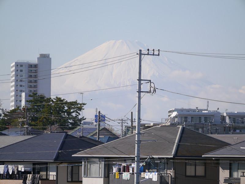 富士山も遠くに望むことができる
