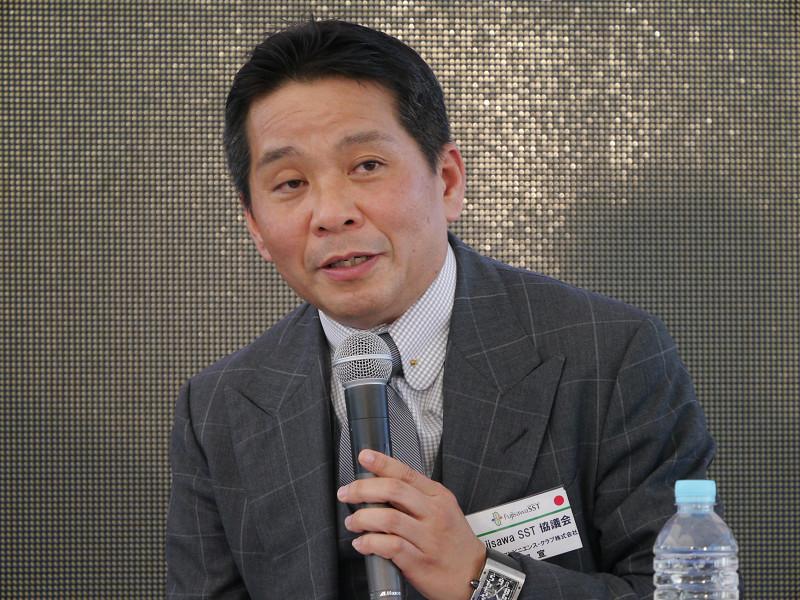 カルチュア・コンビニエンス・クラブの武田宣副社長