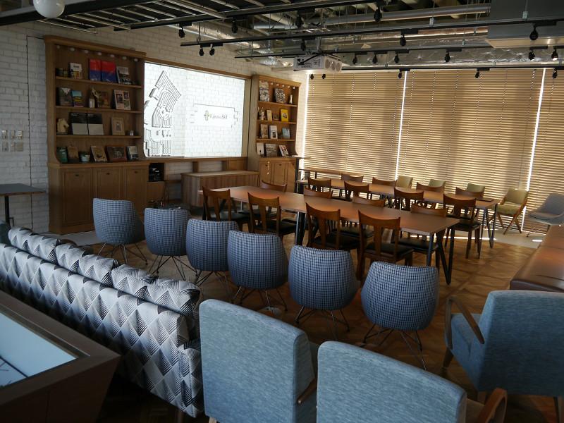 住人や周辺住民、来訪者の交流の場となるSQUARE Center