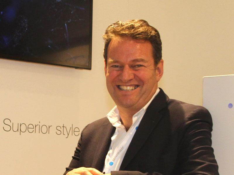 ブルーエア CEOのBengt Rittri(ベント・リトリ)氏