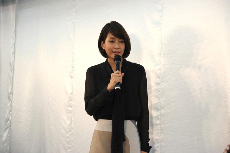 イベントに登場した内田恭子さん