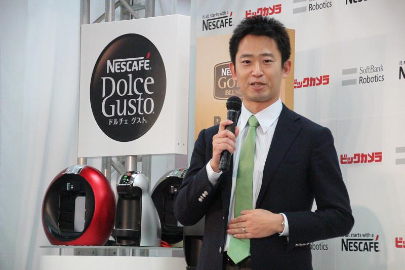 ネスレ日本 コーヒーシステムビジネス部長 大谷 謙介氏