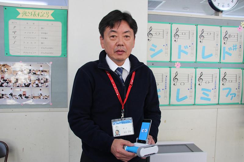 成田市・豊住小学校の岩﨑 正彦校長