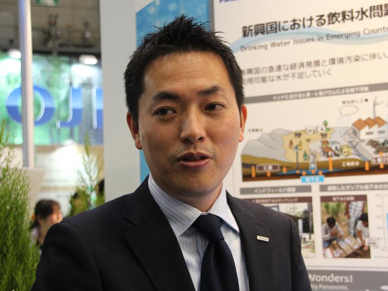 スマートウォータ研究所 光化学デバイス研究家 課長 博士(理学) 猪野 大輔氏