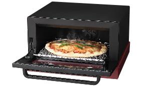 25cmのピザがまるごと焼けるワイド庫内を採用