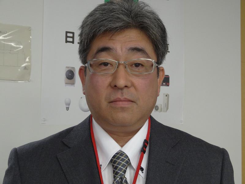 日立アプライアンス 第四設計部 主任技師の庄司 哲也氏