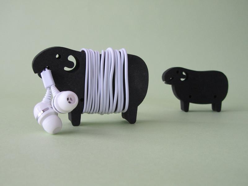アッシュコンセプト「ケーブルホルダー Sheep」