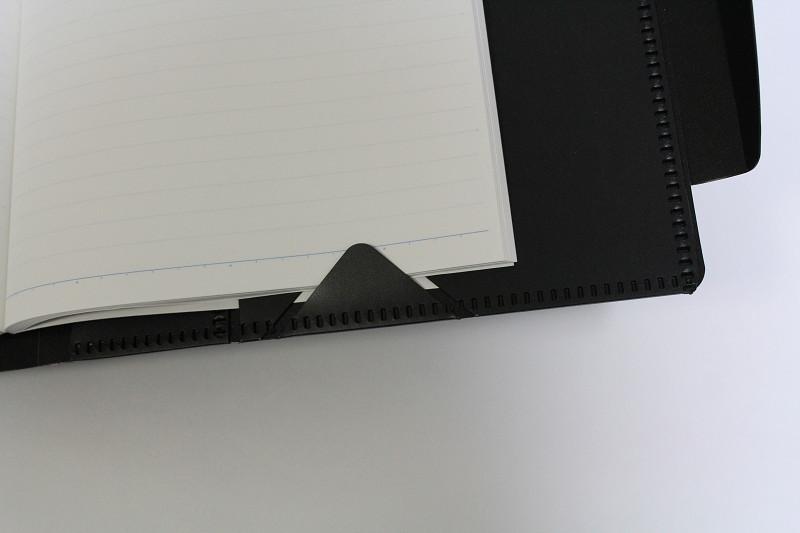三角形のページ押さえ